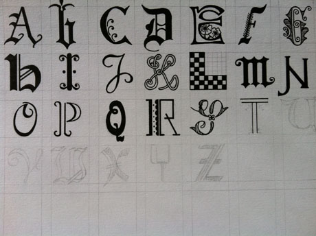Handtypography